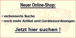 [Neuer Online-Shop für Hausgeräte Ersatzteile und Zubehör]